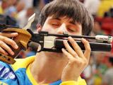 """射击:爱""""吻""""的乌克兰冠军"""