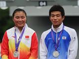 现代五项:中韩组合摘得银牌