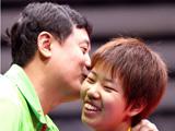 乒乓球:顾玉婷和突尼斯选手跨国合作摘铜