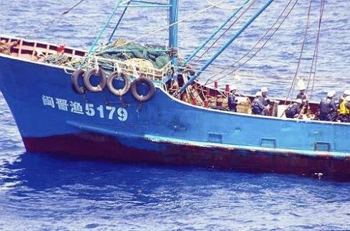 日本巡逻船钓鱼岛撞我渔船 中方提出严正交涉 - zhangfeng - 战略中国