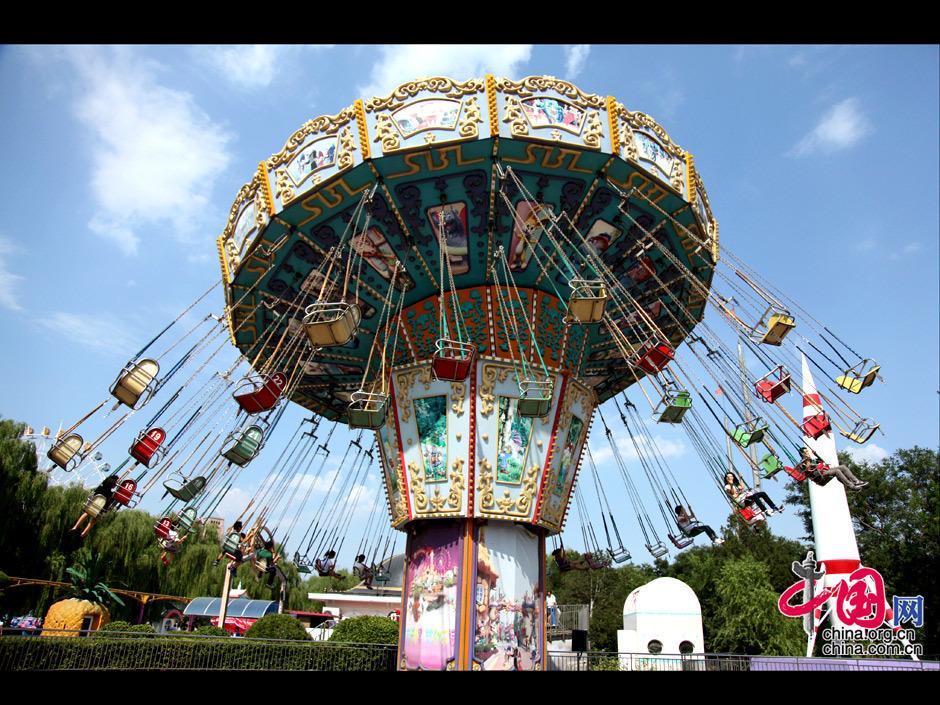 十一放假好去處 石景山遊樂園 圖片中心 中國網
