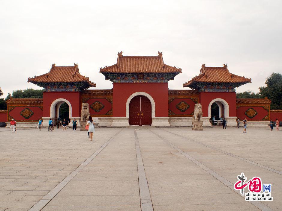 ...北陵 ,是清代皇家陵寝和现代园林合一的游览胜地 于佳奇 摄...
