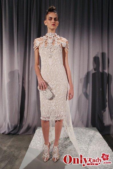 011纸雕质感新娘礼服图片