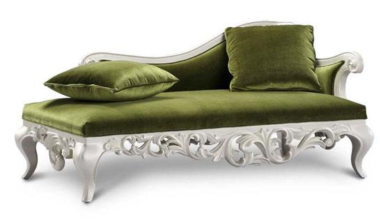 推荐七:欧式银箔贵妃沙发