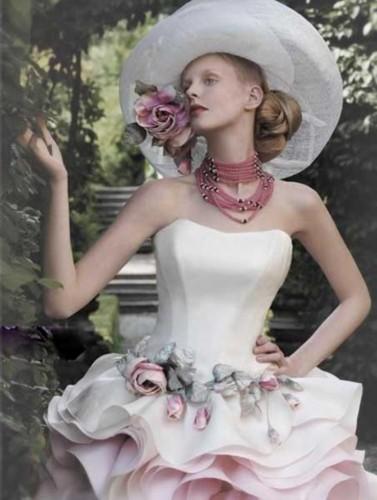 盘点全球最美的婚纱 送给结婚的你-全球最美婚纱盘点 送给十月新娘