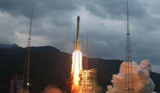 嫦娥二号卫星在西昌发射升空