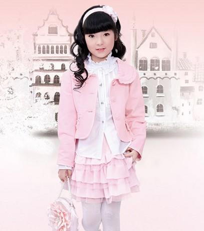 婚礼上的可爱小公主 小花童的时尚裙装
