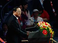 上海世博会闭幕式——俞正声主持