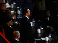 温家宝总理宣布上海世博会闭幕