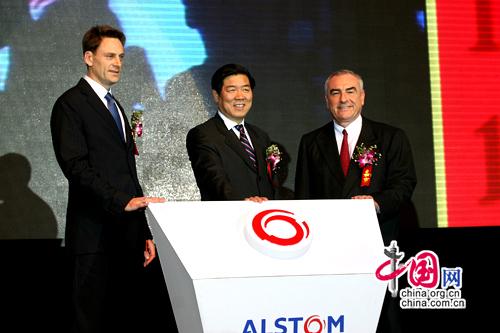 阿尔斯通在华投资10亿人民币建首家绿色制造