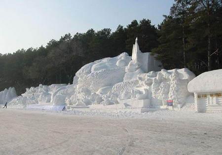 哈尔滨月亮湾滑雪场