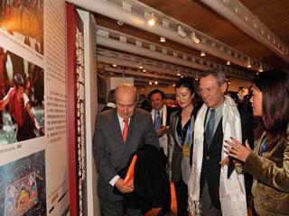 """""""2010中国西藏文化周""""在西班牙开幕[组图]"""
