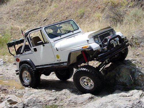 追求极致越野 Jeep牧马人简史高清图片