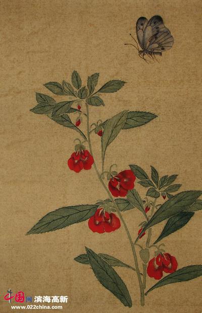 临摹桃花的基本步骤