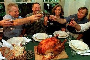 画说美国感恩节:狂欢与团聚同在