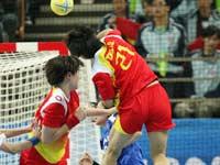 亚运会女子手球中国队打出气势首次夺冠