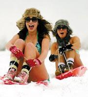 组图:全球热门滑雪地推荐