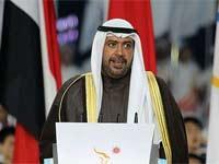 艾哈迈德亲王宣布第十六届亚运会闭幕