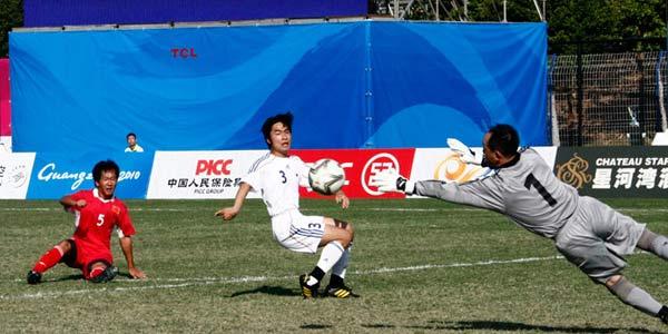 中国七人足球胜日本进决赛