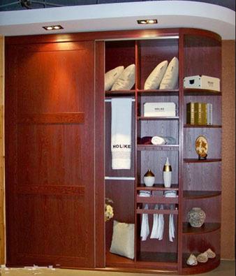 推拉衣柜4门内部结构
