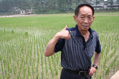 2000年国家最高科学技术奖获得者袁隆平