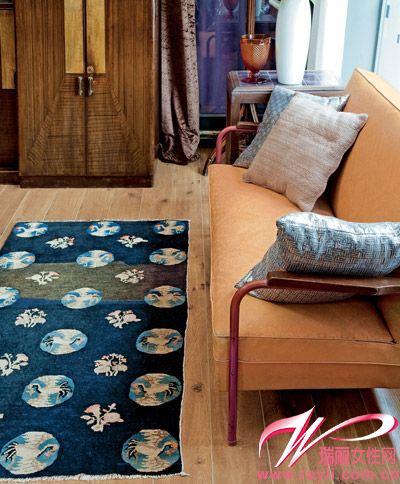 毯图片来源:《瑞丽家居设计》-12款缤纷地毯 给空间增暖又增色图片