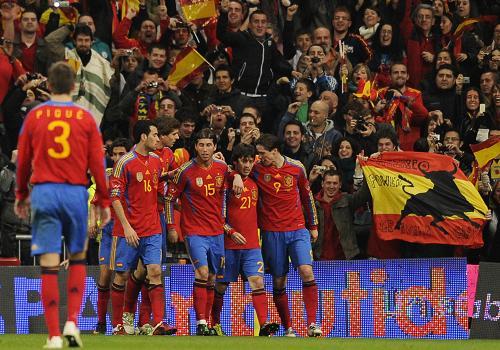 友谊赛:西班牙胜哥伦比亚