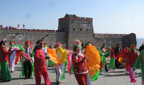 第二届山海关·中华龙抬头文化旅游节开幕