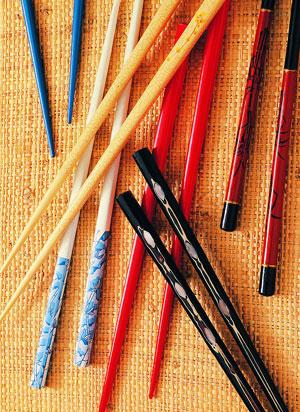 格的木材制作筷子