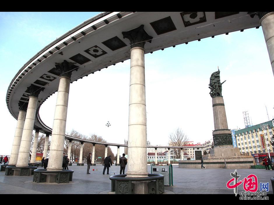 哈尔滨标志性建筑——防洪纪念塔.成卫东摄影