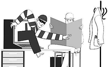 網路犯罪如同小偷進入您的住宅。作者:米歇爾·克哈姆(美)