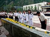 5月的悼念:映秀举行纪念5·12大地震三周年悼念活动