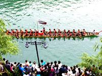 2010年6月16日,中国文化历史名城贵州镇远举办第二十七届龙舟赛。