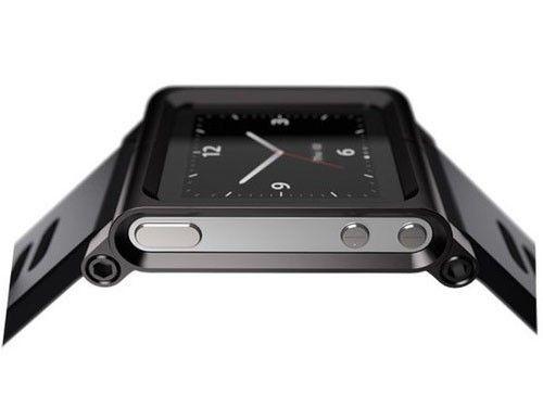 新款黑色ipod nano腕表   苹果已在其零售商店开始销售该高清图片