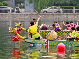 端午节:龙舟竞渡祭屈原
