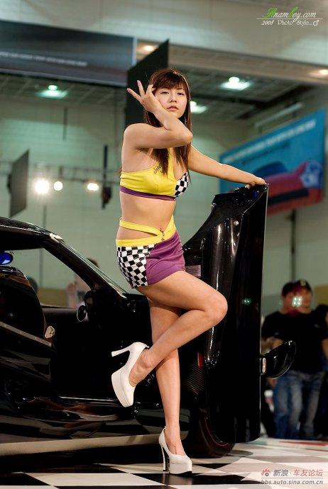 韩国车模具智成写真