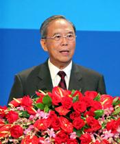 中国国际经济交流中心理事长、前国务院副总理 曾培炎
