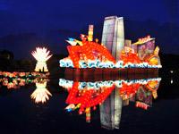建党90周年:圆明园民族灯会闪亮京城