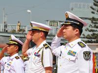 """""""和平-11""""多国海上联合军演开始举行[组图]"""