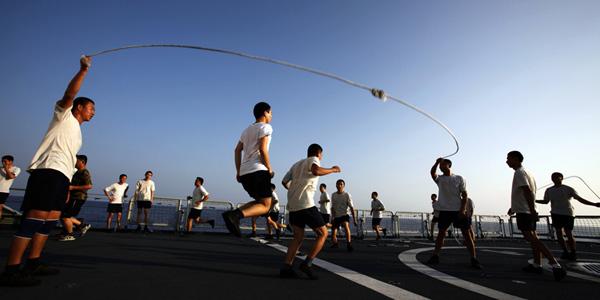 中国海军亚丁湾护航影像集(上)