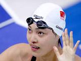 中国队打破女子4X100米混合泳接力赛会纪录夺冠[组图]