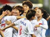 大运会女足半决赛:中国战胜巴西