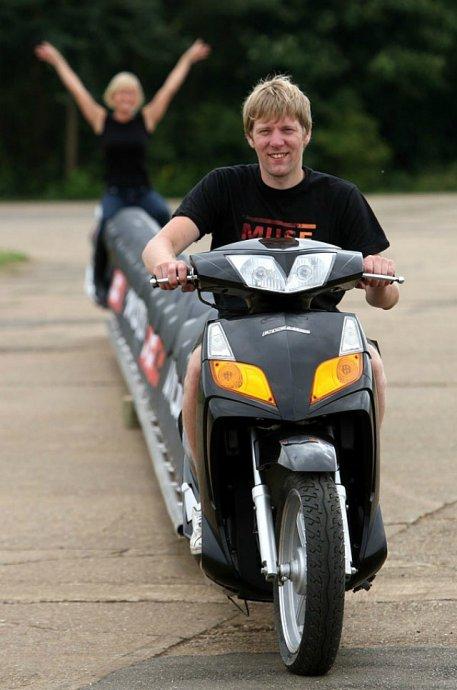 世界上最长的摩托车图片