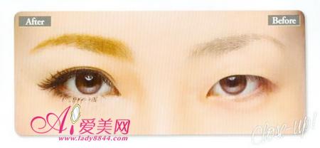 宽眼距型单眼皮 教你如何化妆变大眼