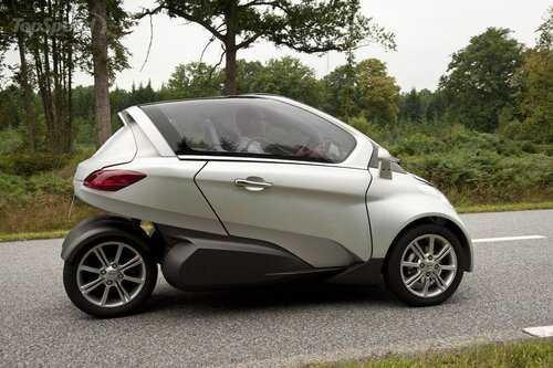 标致电动概念车VELV亮相 造型似欧宝电动车高清图片