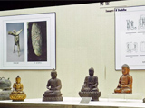 熠熠生辉的青铜艺术品在济南博物馆展出