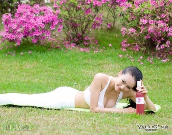 亚洲最美瑜伽教练 母其弥雅风情魅蛊写真图片
