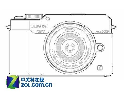 松下gx1相机手绘图