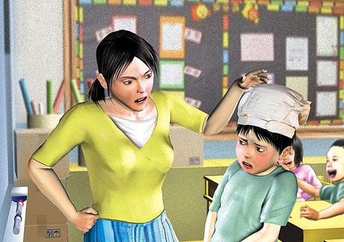 4岁男童尿裤子遭尿布套头台一恶女生涉公然羞腰致紧老师图片