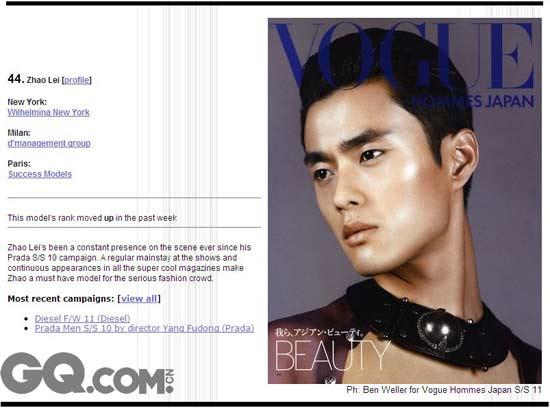 世界上最帅的中国男模